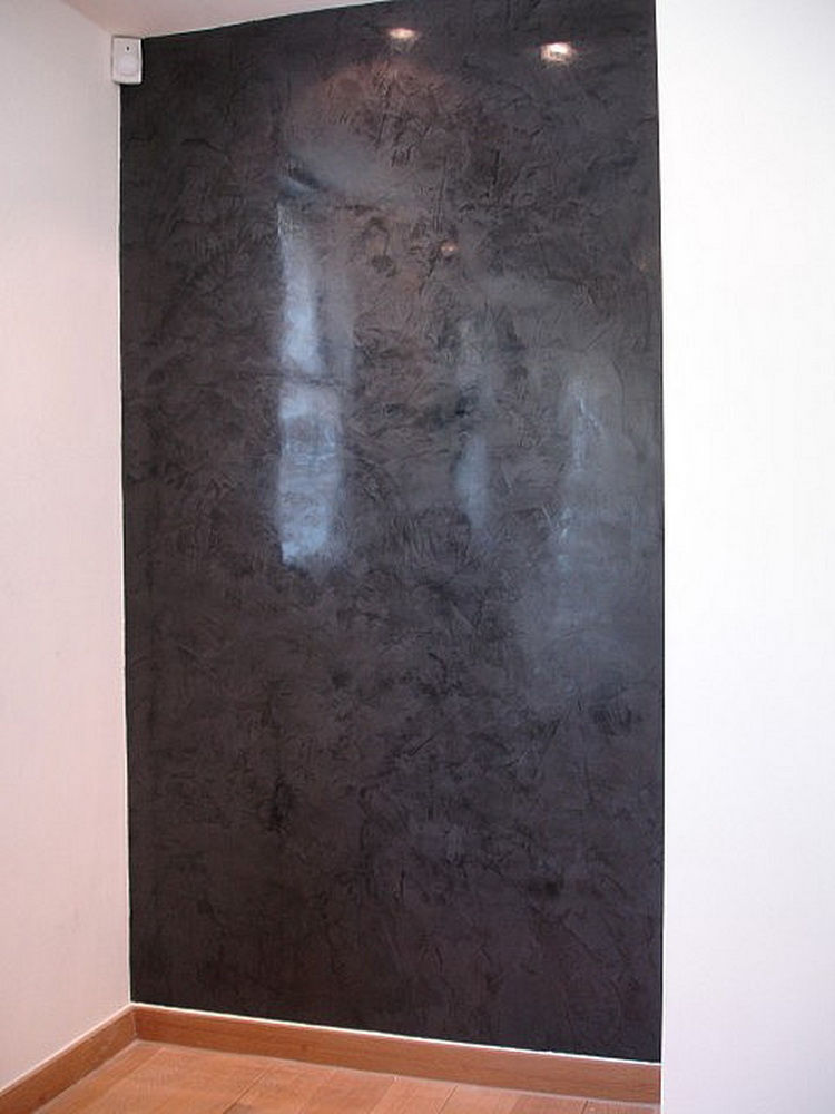 Polished Cement Walls Polished Concrete Bathroom Walls